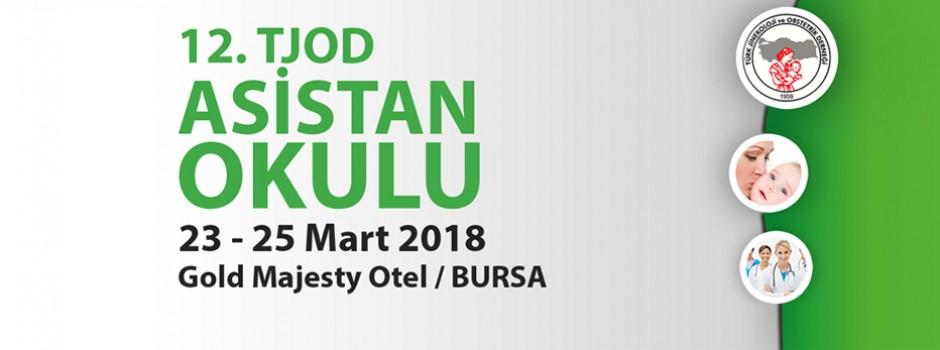 12. TJOD Asistan Okulu | 23-25 Mart 2018 | Bursa