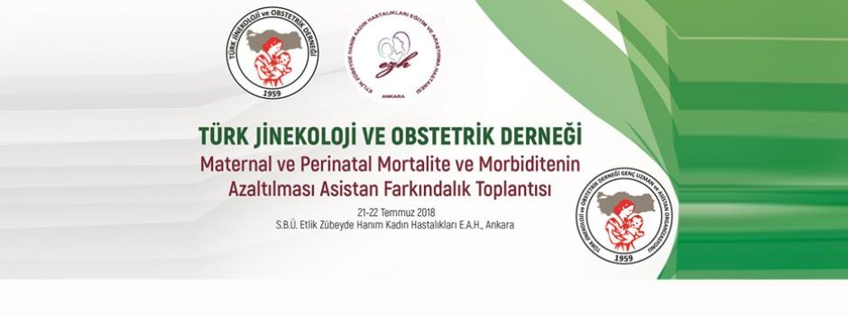 Maternal ve Perinatal Mortalite ve Morbiditenin Azaltılması Asistan Farkındalık Toplantısı | 21-22 Temmuz 2018 | Ankara